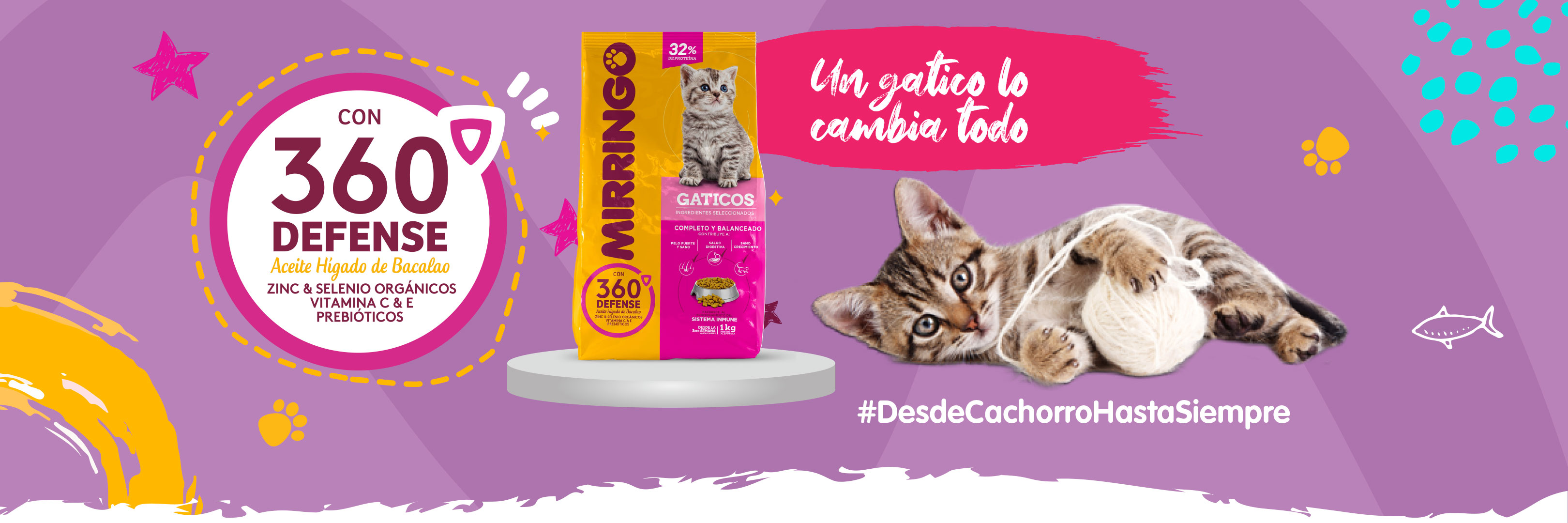 Banner producto cachorros