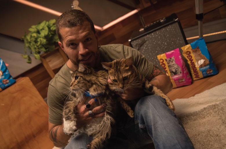 Mirringo presenta el homenaje de los gatos a los humanos
